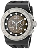 Invicta Men's 12295 Akula Chronograph Olive Green Dial Black Silicone Watch, Watch Central