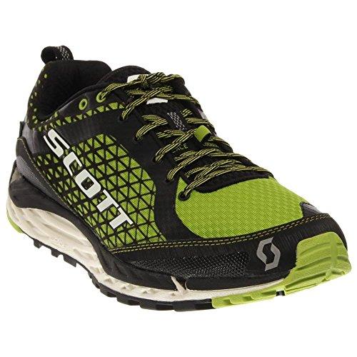 Price comparison product image SCOTT T2 Kinabalu HS Trail Running Shoe - Men's-Black/Green-Medium-12.5 US