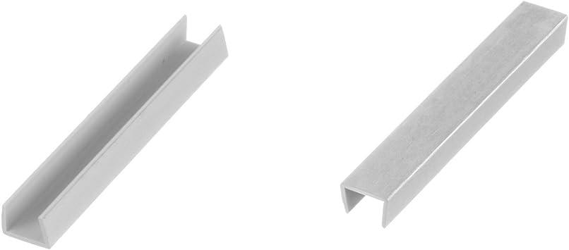 Holzbrink Endstuck Sockelblende Sockelleiste Fur Einbaukuche 150mm Hohe Aluminium Geburstet Hbk15 Amazon De Kuche Haushalt