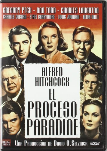 - The Paradine Case (El proceso Paradine) - Audio: English, Spanish - Region 2 - Spain Import