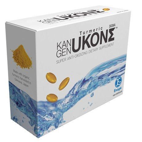 Turmeric Dietary Supplement (ORGANIC KANGEN UKON SIGMA TURMERIC (SUPER ANTI-OXIDIXING DIETARY SUPPLEMENT) 100 Capsules)
