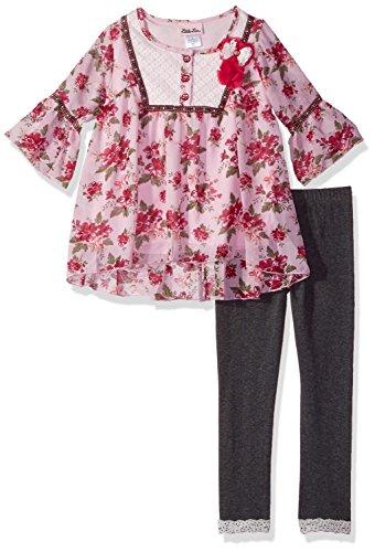 FTSUCQ Girls Chiffon Lemon Tank Top Vest Cropped Trousers