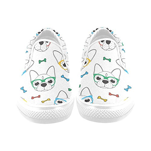 Dog Custom Multi10 Shoes Fashion Story Sneaker Womens D Funny Shoes Canvas qvxFtZnw5