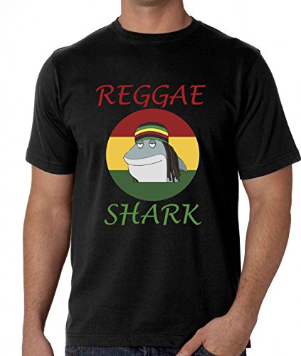 Reggae Shark Rasta Cool Man T-Shirt