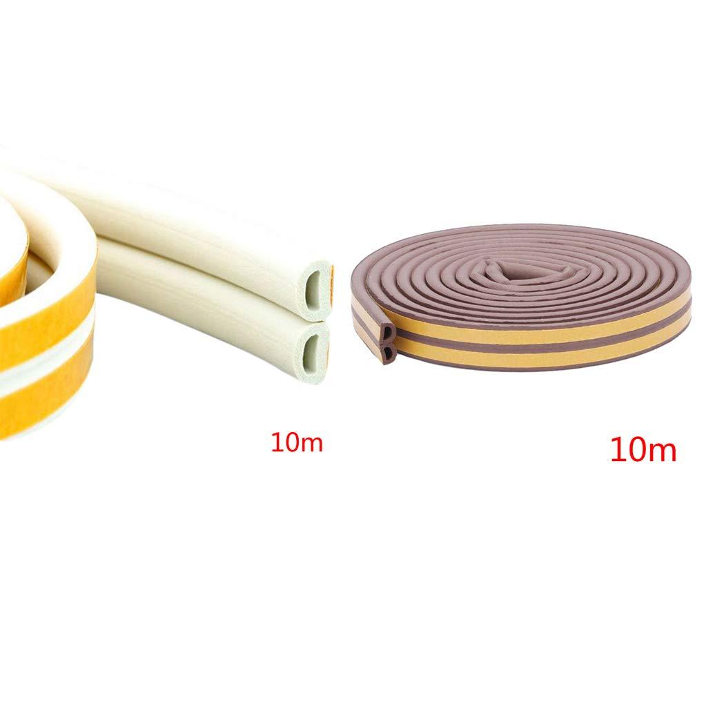 Finestra Bordo Assetto Hanxin Striscia autoadesiva Sportello dauto Seal Striscia 10m D Tipo di Portello della Finestra Copertura Motore Auto Copribordi Rumore di Isolamento