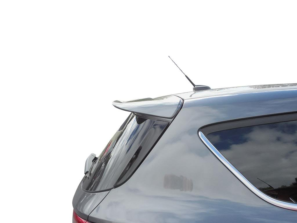 Ford Escape Spoiler Painted in The Factory Paint Code of Your Choice #530 G1