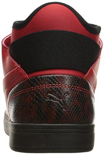 Rosso Fashion Puma Black 12 Men's Ad Sneaker E M Play Rischio Us Wine Dine Alto xwnTgAYfq