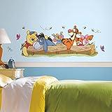 &Sticker Geant Disney-Winnie et ses amis