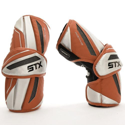 UPC 098805438760, STX Lacrosse Men's Shadow Armguard, Red, Medium