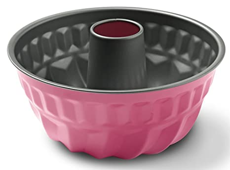 Guardini Smart Colors Molde flan, Acero, Rosa