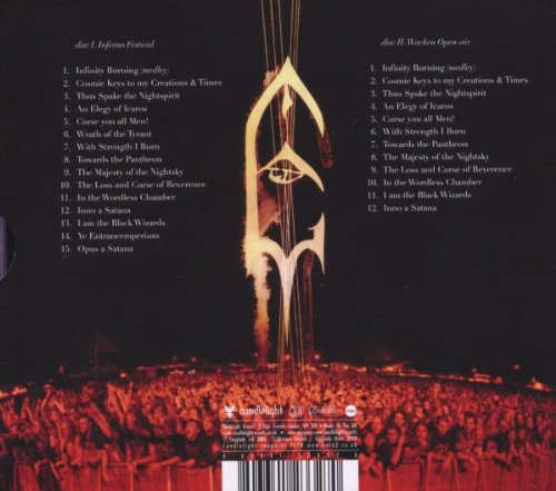 Live Inferno by CANDLELIGHT RECORDS (Image #1)