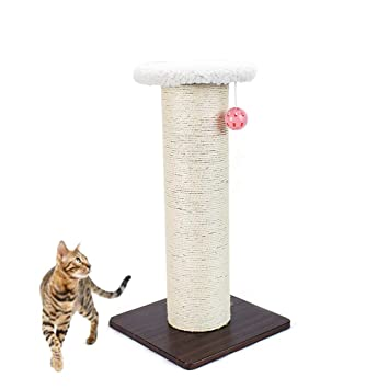 Xingxiu Ambientalmente Cat Sharpening Device Small Scratch Board Tridimensional Sisal Cat Scratch Column Cat Jumping Platform