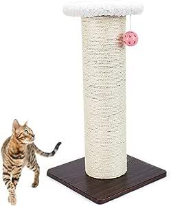 Wagyunfei Juguetes para Gatos Gato Afilado Equipo pequeño rascador Tridimensional sisal Gato arañazos Columna Gato Plataforma de Salto. Poste de rascado montado en la Pared: Amazon.es: Hogar