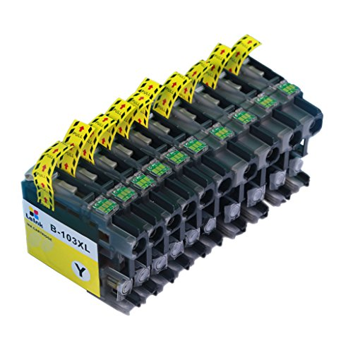 LC103 Ink Cartridge 10 Pack Compatible with Brother MFC J245 J870DW J4310DW J4410DW J4510DW J4610DW J4710DW J6520DW J6720DW J6920DW Printer Photo #2