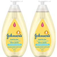 Johnson's Baby Wash and Shampoo for Baths, Head-to-toe, Tear Free, 800ml