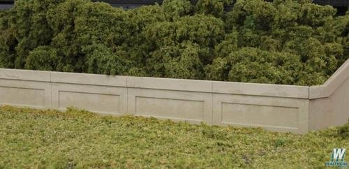 Walthers Cornerstone - Urban Retaining Walls -- Kit - HO