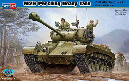 Hobby Boss M26 Pershing Vehicle Model Building Kit