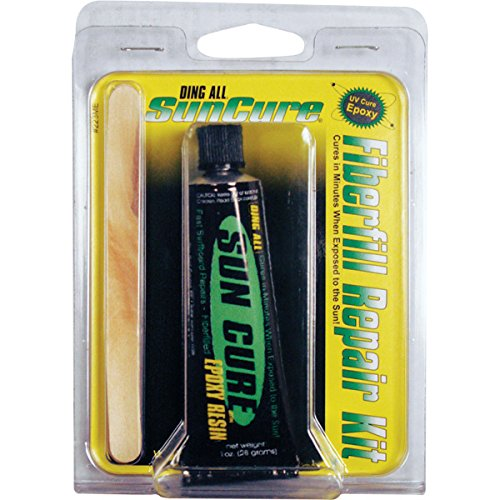 SunCure Epoxy Fiberfill Kit - 1 oz (Cure Sun Epoxy)