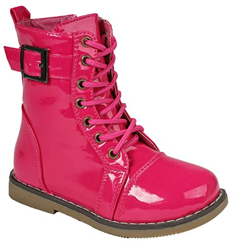 Kids  (Lace Up Pink Boots)
