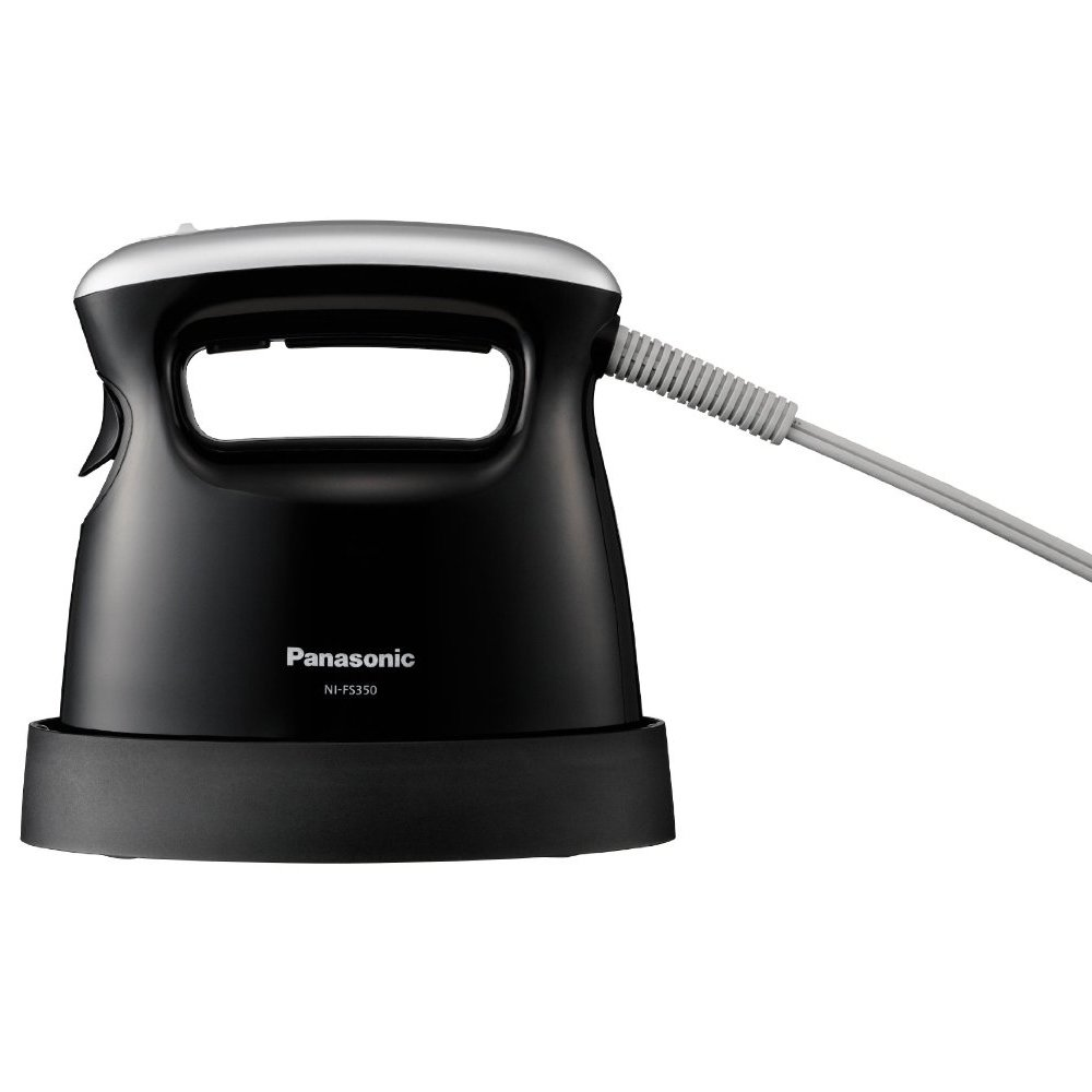 Panasonic Iron / Pants Press Clothes Steamer Black Ni-fs350-k by Panasonic