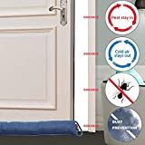 MAGZO Door Draft Noise Stopper, Under Door Draft
