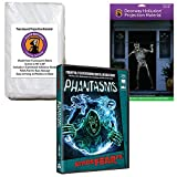 AtmosFEARfx Phantasms Halloween Digital Decoration DVD with Hollusion Doorway+ Reaper Bros Window Projection Screens