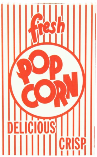 Snappy Popcorn 3E Close-Top Popcorn Box, 100/Case, 6 Pound by Snappy Popcorn (Image #1)