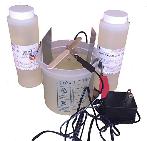 Caswell Science Plating Kit - Zinc Plating