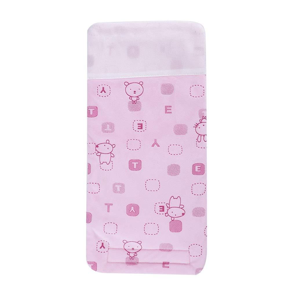Calentador de biberones para bebé s - USB portá til Taza de viaje Calentador del calentador de leche, calentador de biberones, biberó n Bolsa de almacenamiento para bebé s (Color : Yellow) Dewin
