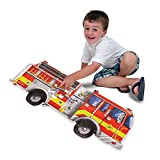 Melissa & Doug Giant Fire Truck Floor Puzzle