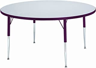 """product image for Jonti-Craft Kydz Activity Table 36"""" Diameter/Gray Top/Red Edge/Toddler Height"""