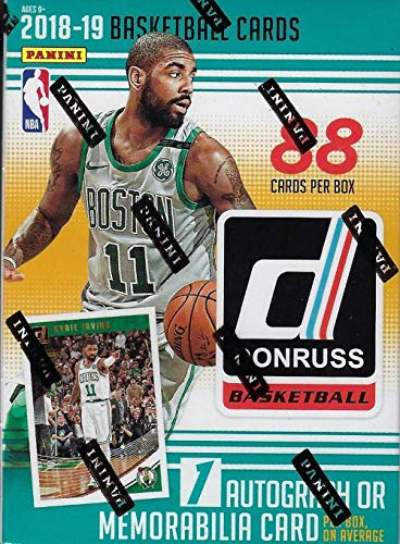 2018/19 Panini Donruss NBA Basketball BLASTER box (11 pk, ONE Memorabilia or Autograph card)
