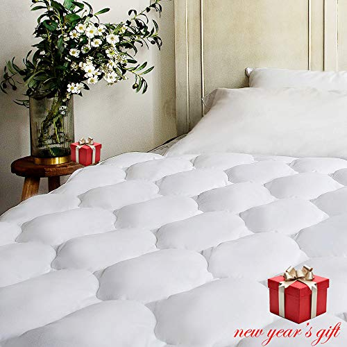 quilted extra plush mattress pad