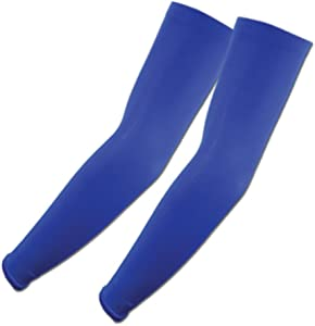 Elixir Golf Sun Protection Arm Cooling Sleeve-1 Pair, Blue