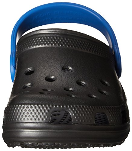 Crocs Kids Classic Zoccoli Graphite Varsity Blue Unisex Bambini Grigio SvSrxOqa