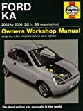 Ford Ka Service and Repair Manual: 2003 to 2008 (Service & repair manuals) by M. R. Storey (2009-05-26)