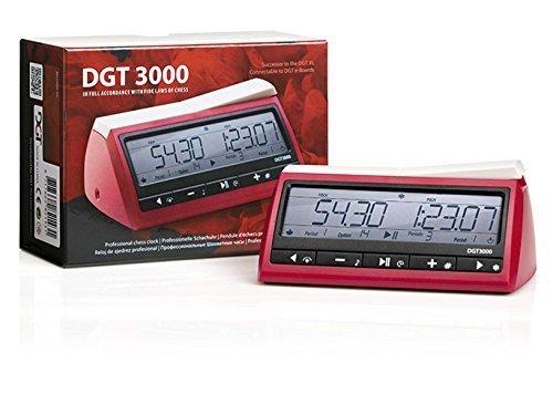 DGT 3000 Digital Chess Clock by  The House of Staunton, Inc.