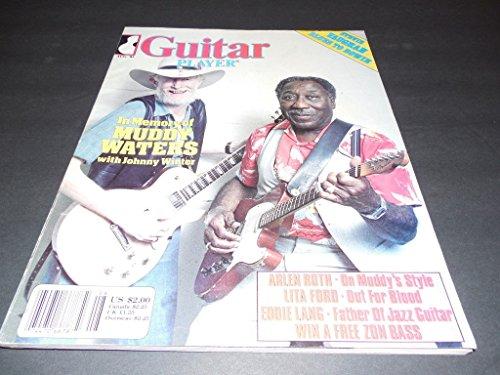 Guitar Gamester Aug 1983 Muddy Waters, Johnny Winter, Stevie Ray Vaughan