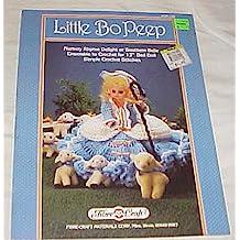 "Little Bo Peep FCM148 Doll Crochet Cloths 1987 (Nursey Rhyme Delight or Southern Bell) (13"" Bed Doll)"