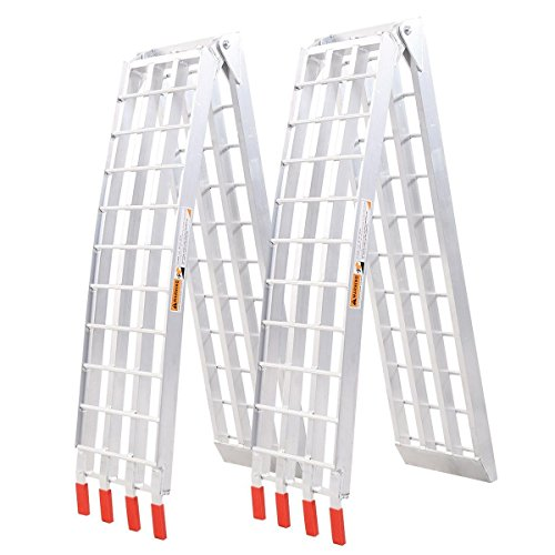 Goplus Heavy Ramps Aluminum Arched