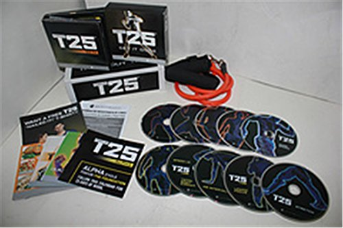 T25 Shaun T's NEW Workout DVD Program-Get It Done in 25 Minutes