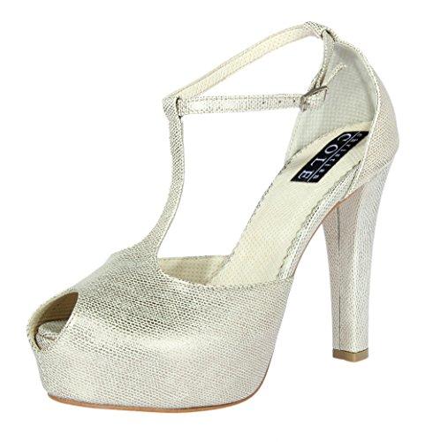 Silber Christian Cole Damen Cc202123 Sandaletten wOz4qU