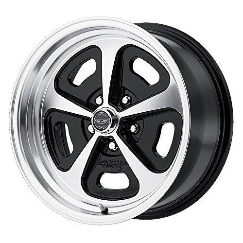 American Racing VN501 Gloss Black Wheel Machined Face (15x7