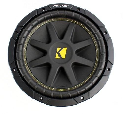 2) New KICKER 10C104 Comp 10'' 600 Watt 4 Ohm Car Subwoofers Combo C10 10C10-4