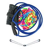 Water Balloon Launcher 300 Yards, Heavy Duty Water Balloon Cannon / Slingshot Fun Water Balloon Fight Pool Party Toy,3 Person Giant Angry Animals Summer Beach Games,100 Balloons & Carry Case
