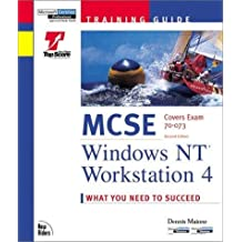 Training Guide MCSE Windows NT Workstation 4 Covers Exam 70 073 [Paperback] [Jan 01, 1998]