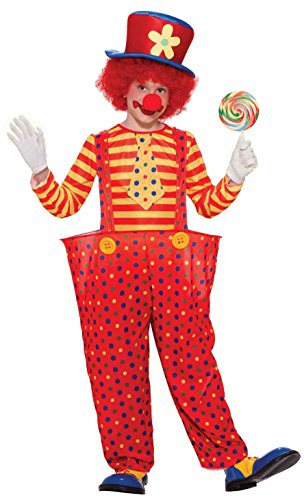 Forum Novelties Hoopy the Clown Child Costume, Medium -
