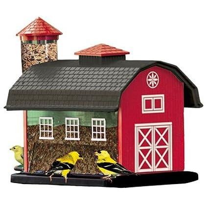 Strange Audubon Red Barn Combo Seed Bird Feeder Model 6290 Interior Design Ideas Philsoteloinfo
