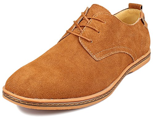 Kunsto Classic Leather Oxford Flats product image