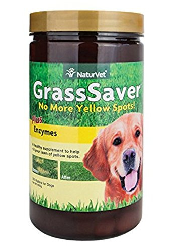 NaturVet GrassSaver Chewable Wafers, 21 Ounce